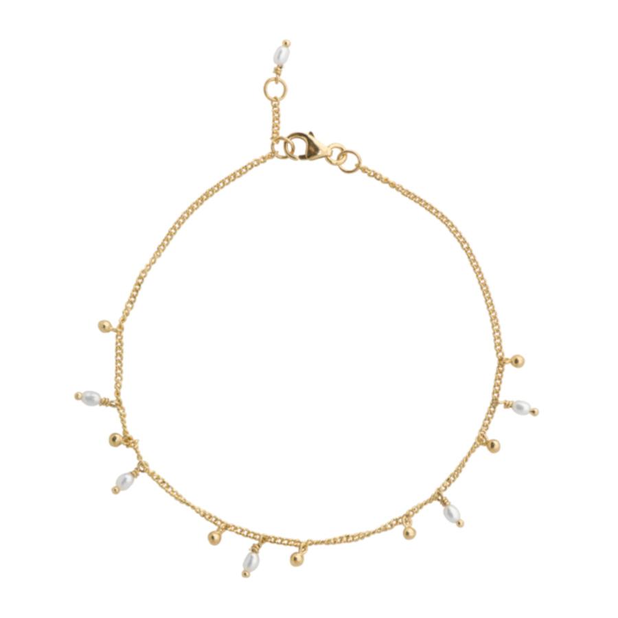 Bilde av ANNA + NINA 14 Karaat Gouden Essentials Cosmic Dust Armband 18 2M907008G (Lengte: 18.00 cm)