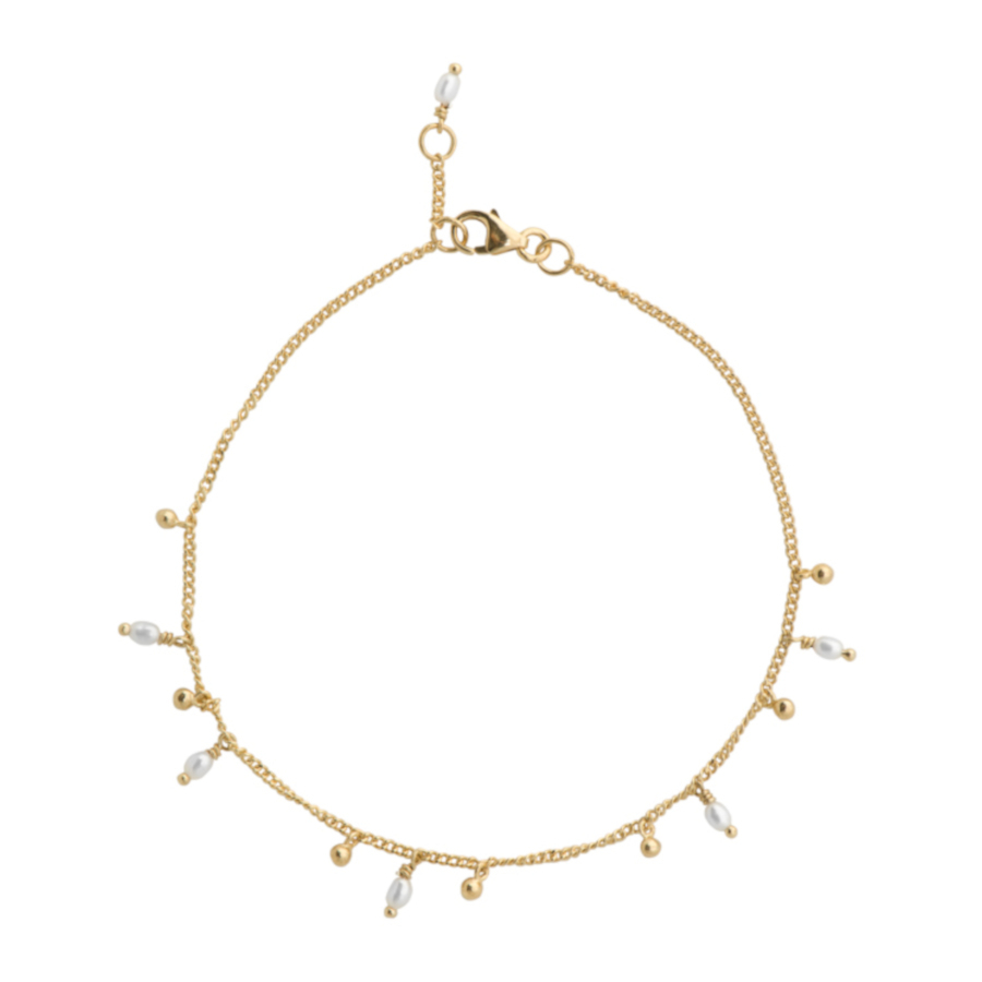 Bilde av ANNA + NINA Essentials Bracelet 18 2M907008GP (Size: 18 cm)