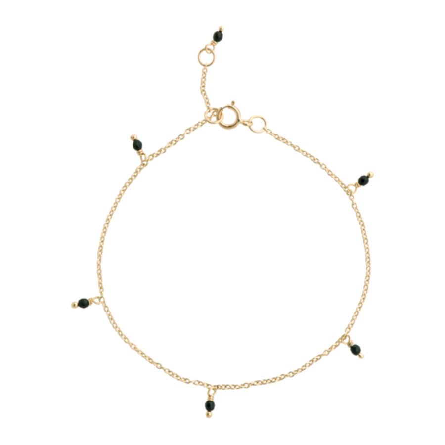 Bilde av ANNA + NINA 14 Karaat Gouden Essentials Meteorite Armband 18 2M907010G (Lengte: 18.00 cm)