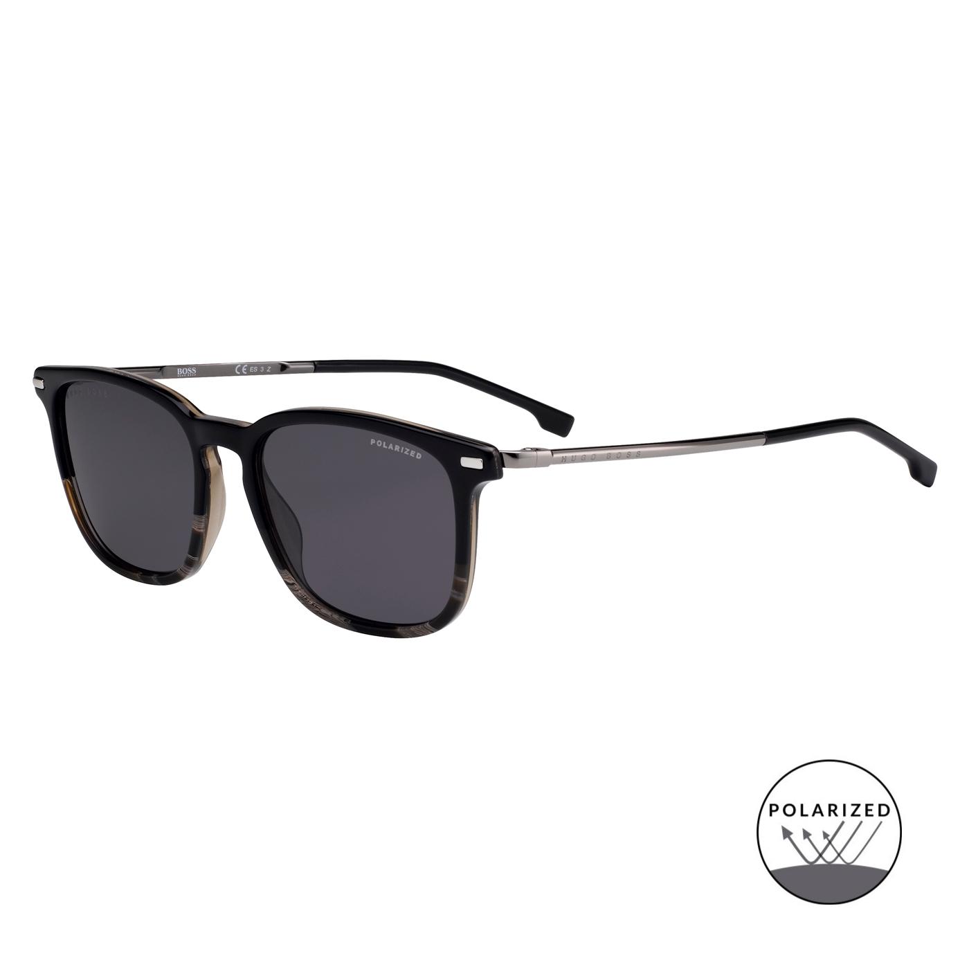 Bilde av Boss Black Grey Polarized Sunglasses BOSS 1020S XOW 54 M9