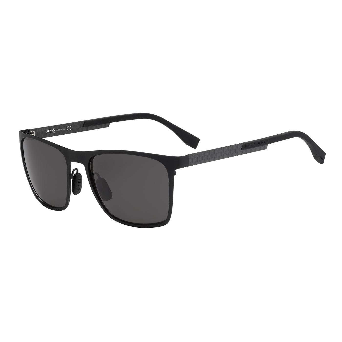 Bilde av Boss Black Carbon Sunglasses BOSS 0732S KCQ 57 Y1