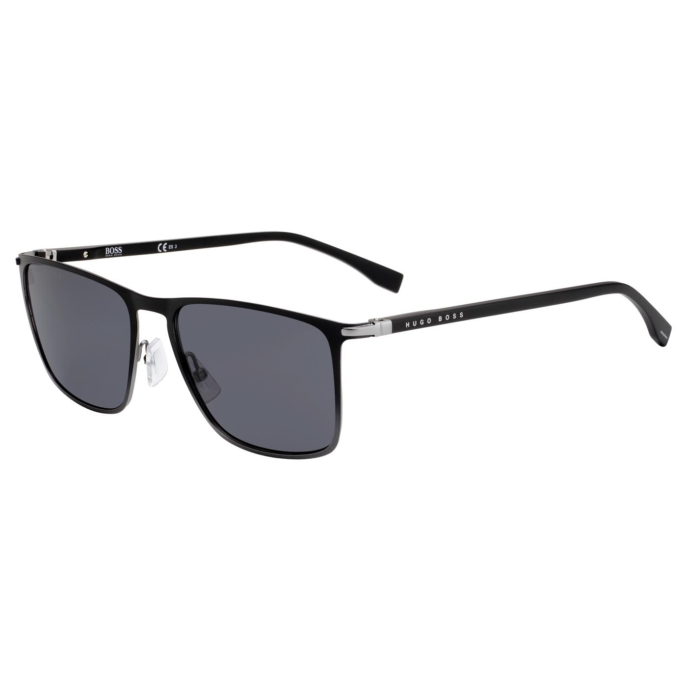 Bilde av Boss Dark Grey Sunglasses BOSS 1004S O6W 56 IR