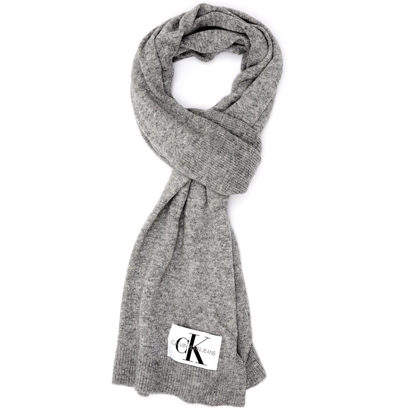 Bilde av Calvin Klein Jeans Basic Mid Grey Scarf K60K604789013