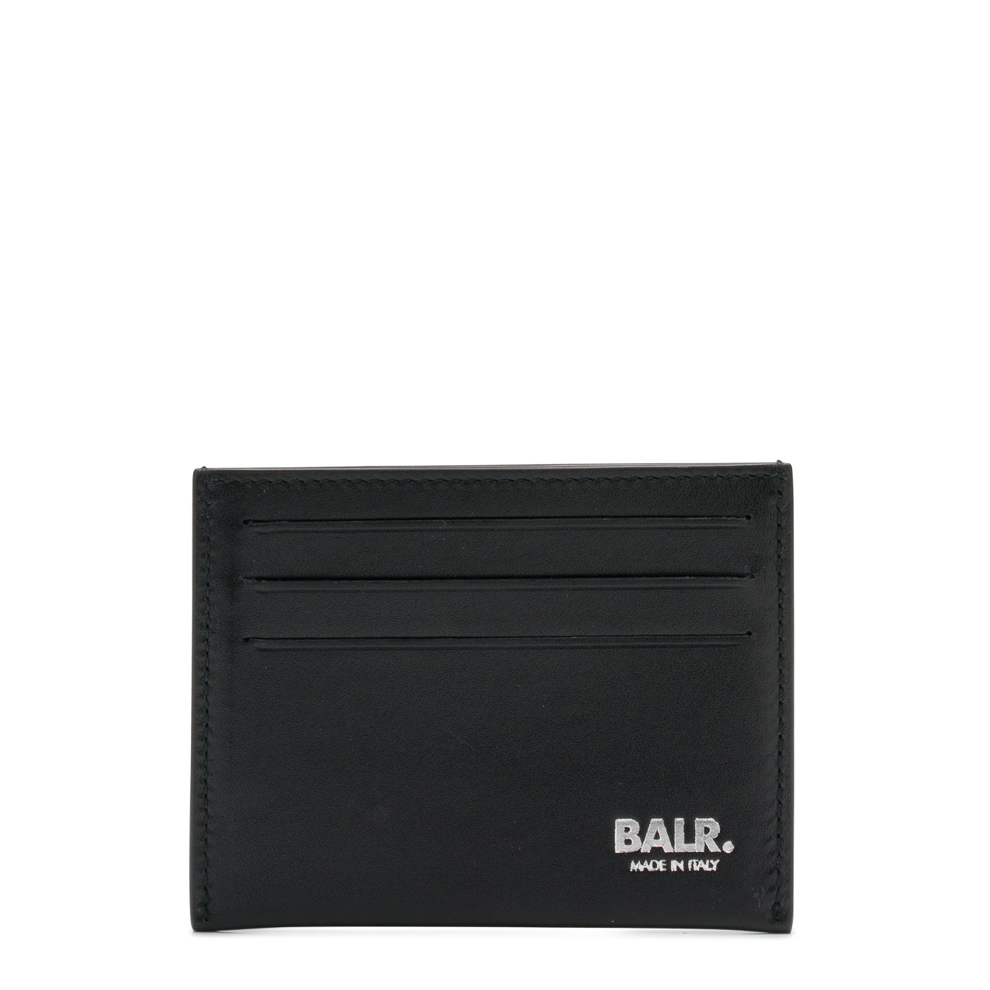 Bilde av BALR. Black Leather Slim Wallet 8719777007892