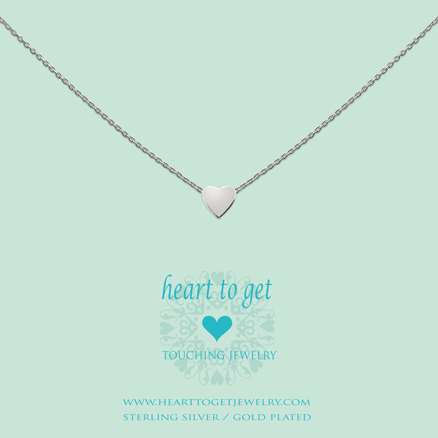 Image of Heart to Get Heart For Initials Symbol Heart Silver Bedel S174HEA13S