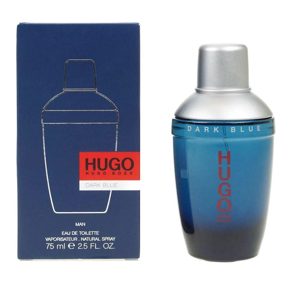 Hugo Boss Hugo Dark Blue Man Eau De Toilette Spray 75 Ml Men Perfumes Perfumes