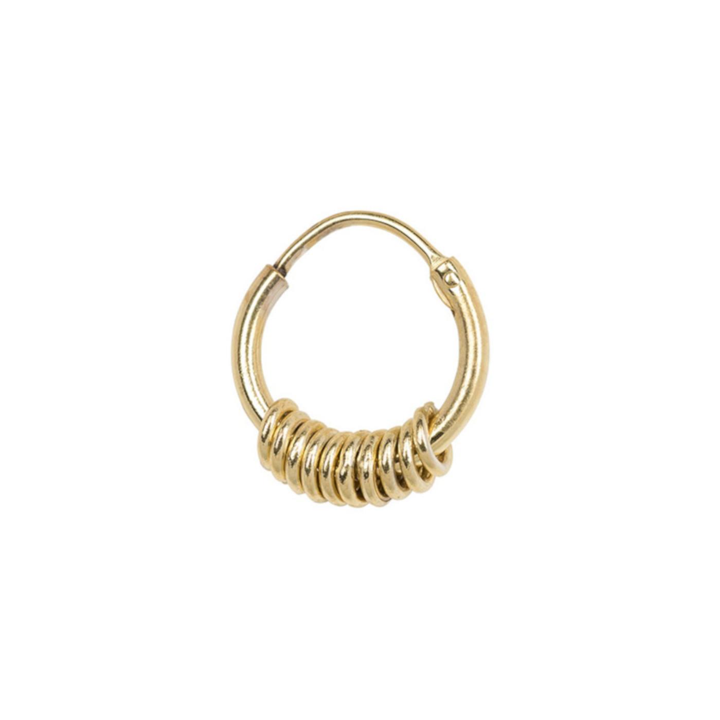 ANNA + NINA 14 Karaat Gouden Essentials Single Multi Oorbellen 011614G0000