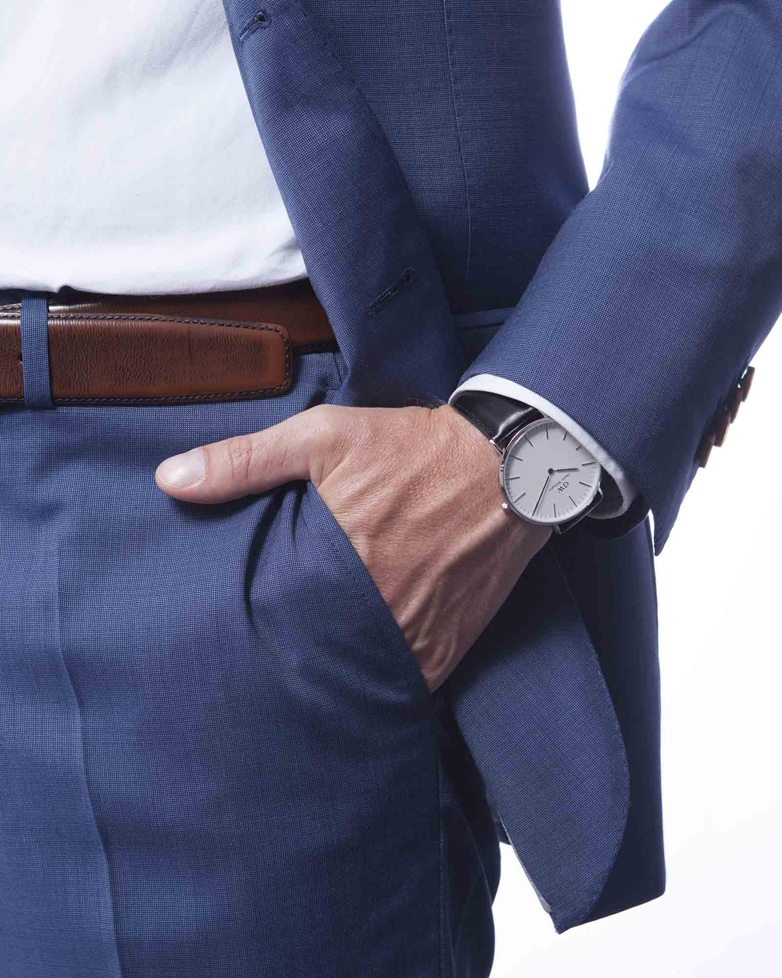 Daniel Wellington Classic Sheffield horloge (40 MM) DW00100020