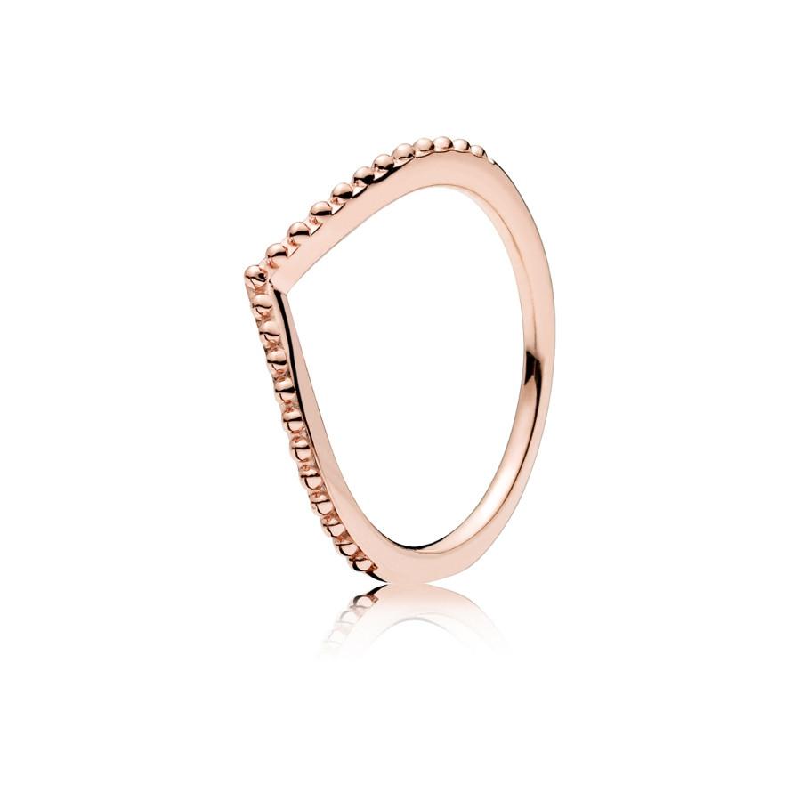 Pandora Stories Zilveren Beaded Wish Ring 186315