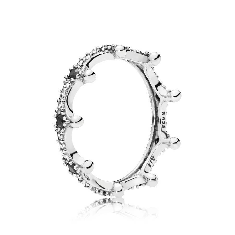 Pandora Stories 925 Sterling Zilveren Crown Ring 197087NCKMX