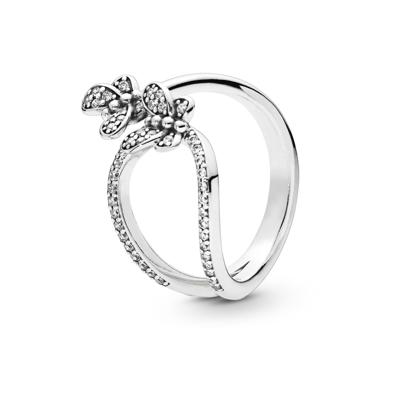 39dd8f3d6 Pandora Stories Ring 197920CZ - Jewelry