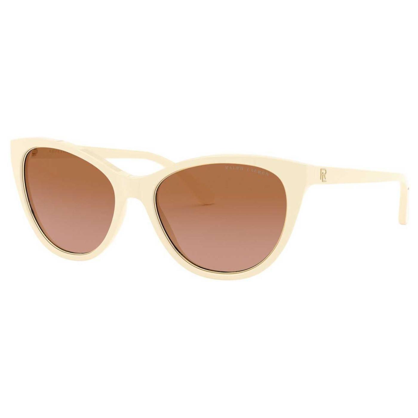 Ralph Lauren Cream White Zonnebril RL818655981355