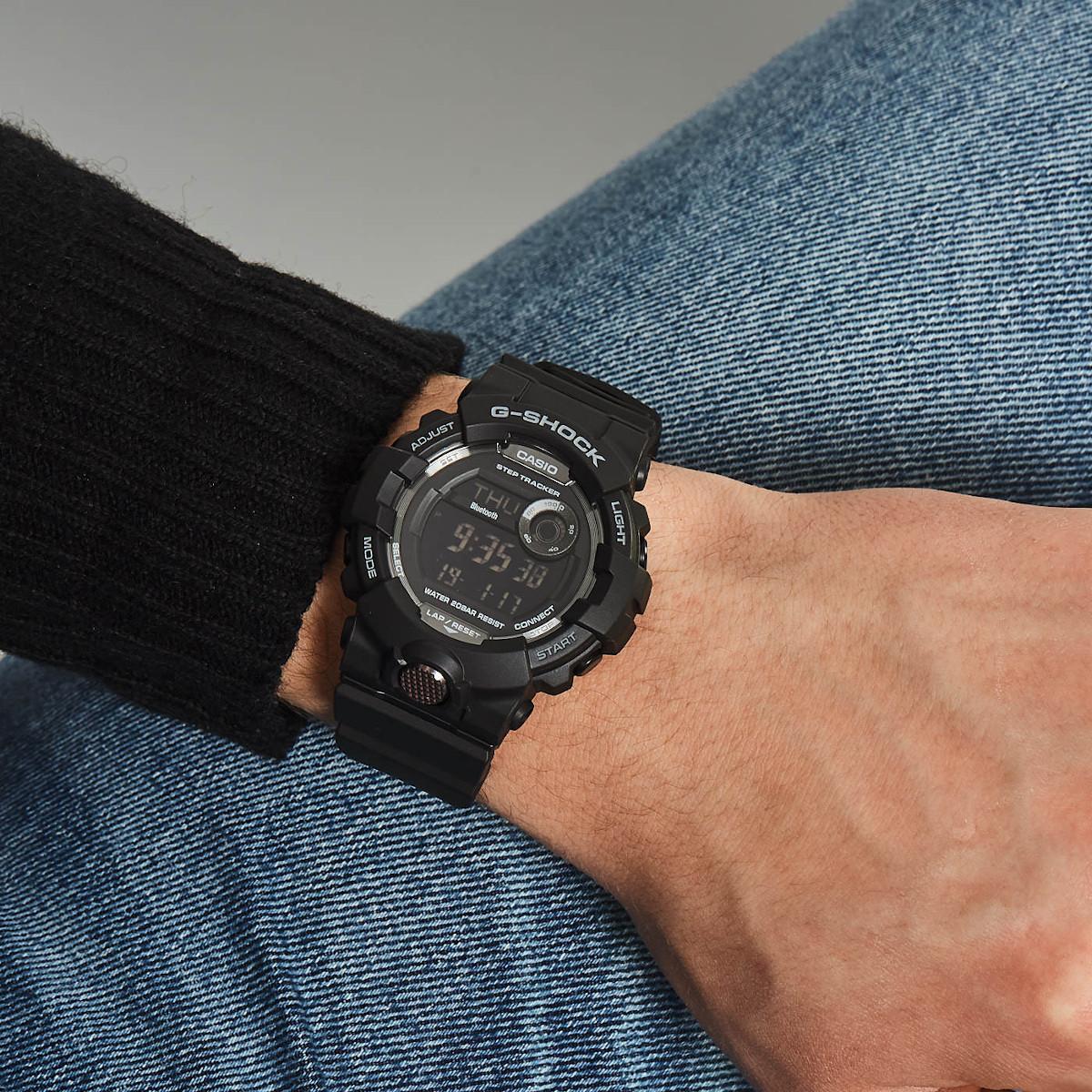 G-Shock G-Squad Bluetooth Stephtracker horloge GBD-800-1BER
