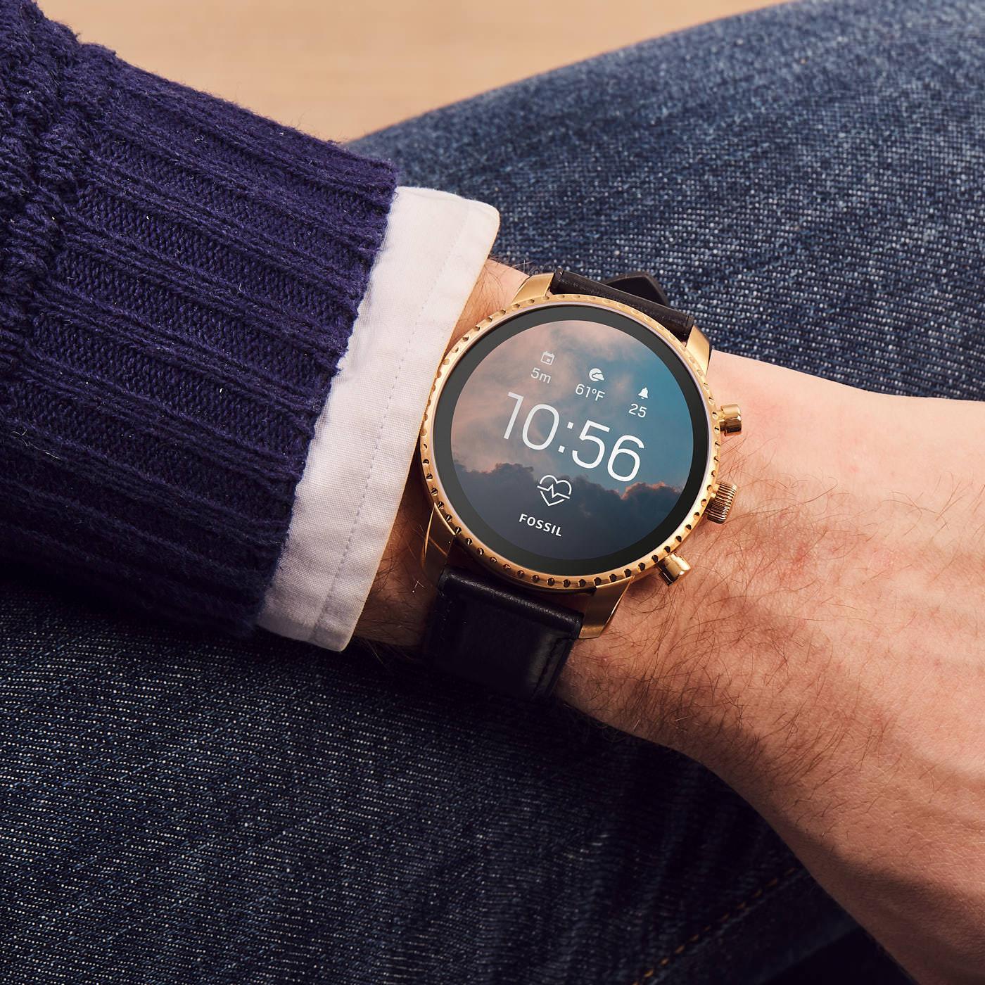 Fossil Q Explorist Gen 4 Display Smartwatch FTW4017