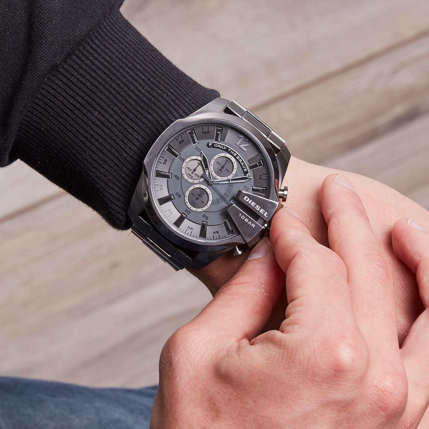 4b6ecc0b5 Diesel Mega Chief watch DZ4282 - Watches
