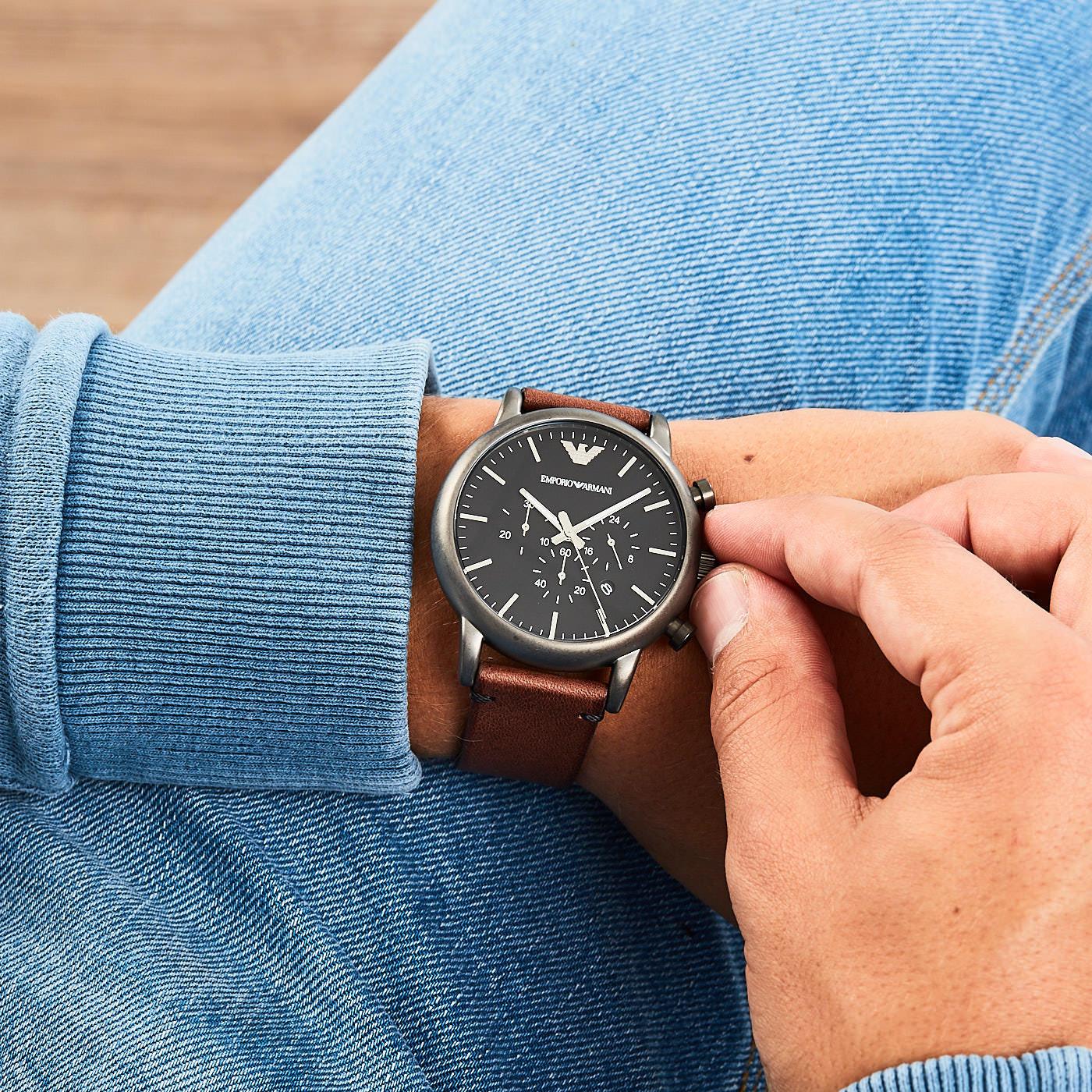 Verkauf Einzelhändler 100% authentifiziert großer Rabatt Emporio Armani watch AR1919