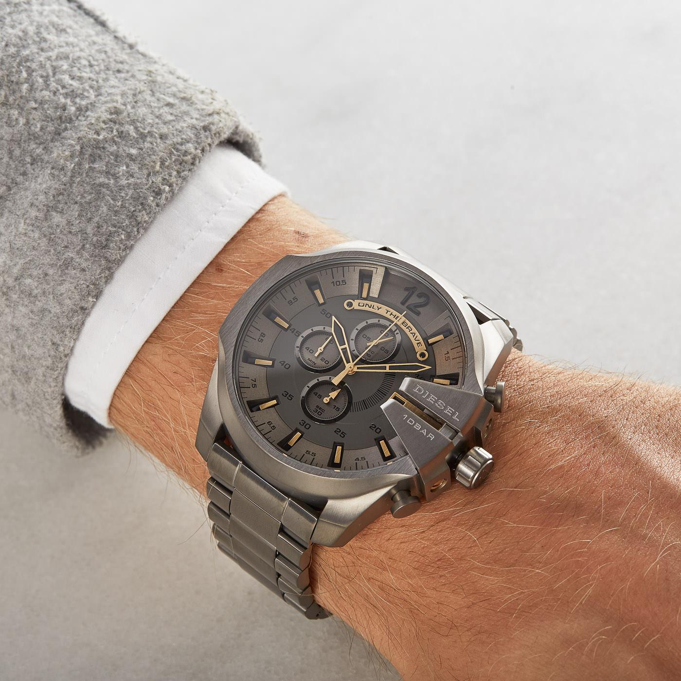 5a871cc65 Diesel Mega Chief watch DZ4466 - Watches