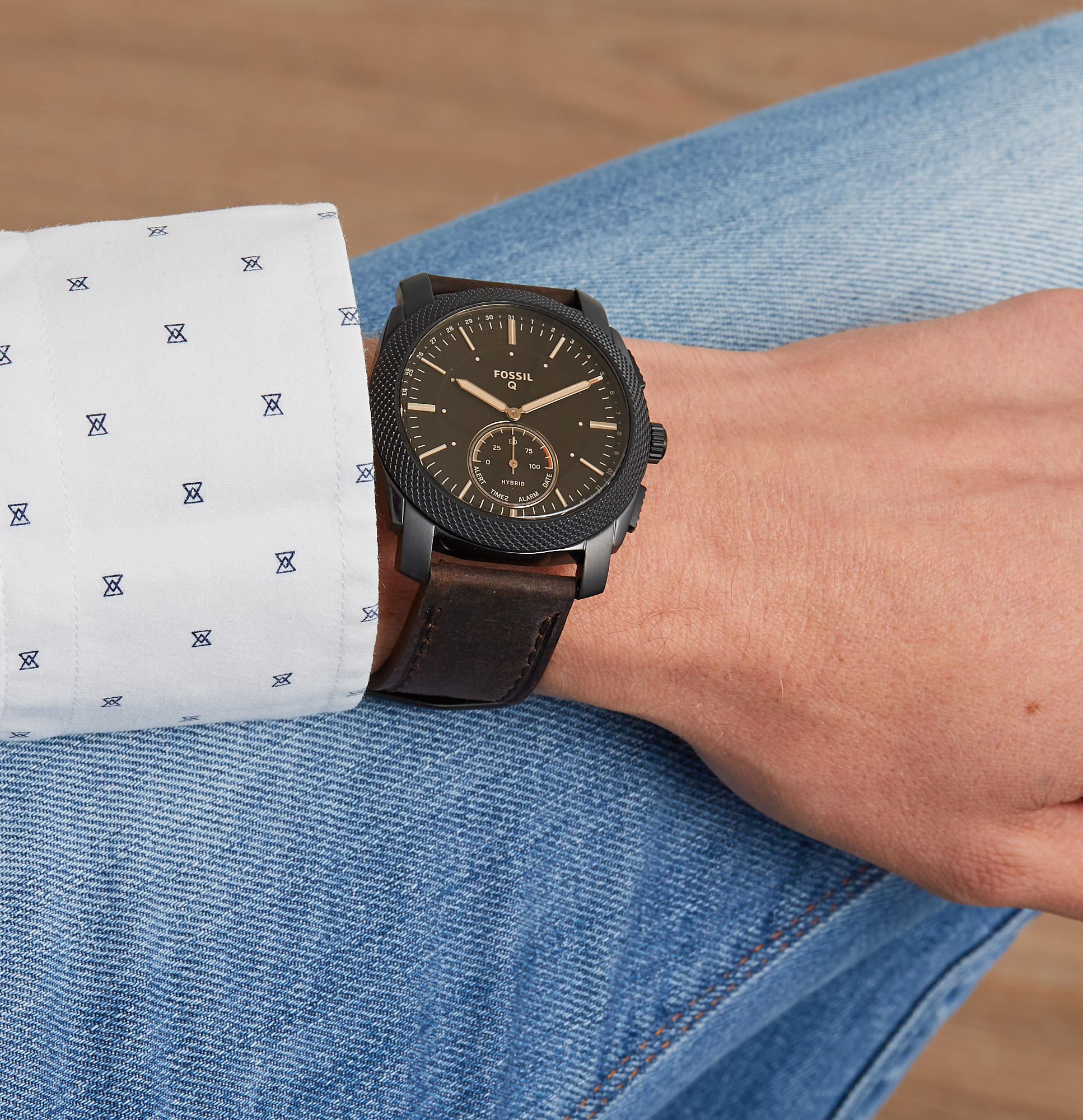 Fossil Q Machine Hybrid Smartwatch FTW1163