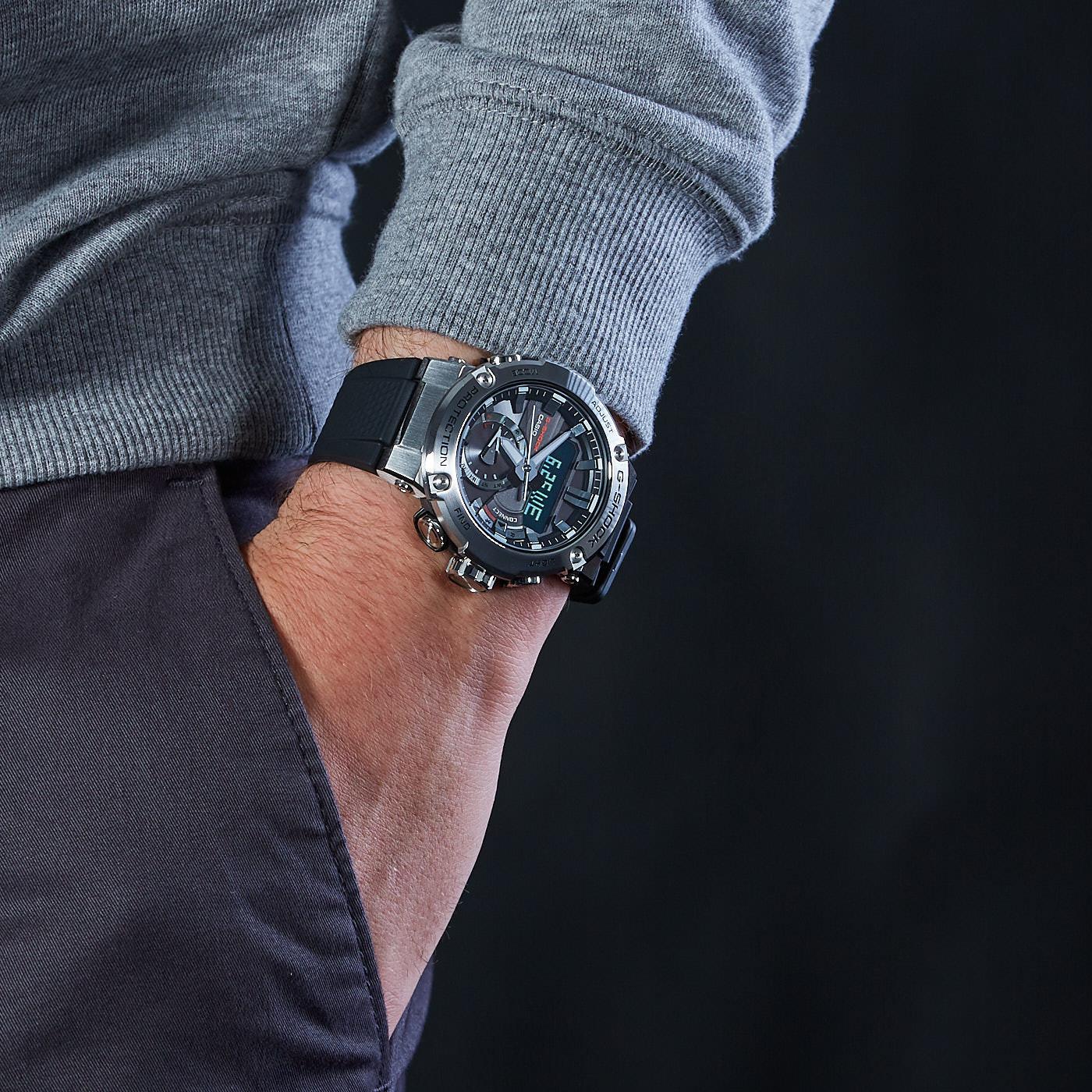 G Shock G Steel Watch Gst B200 1aer Watches