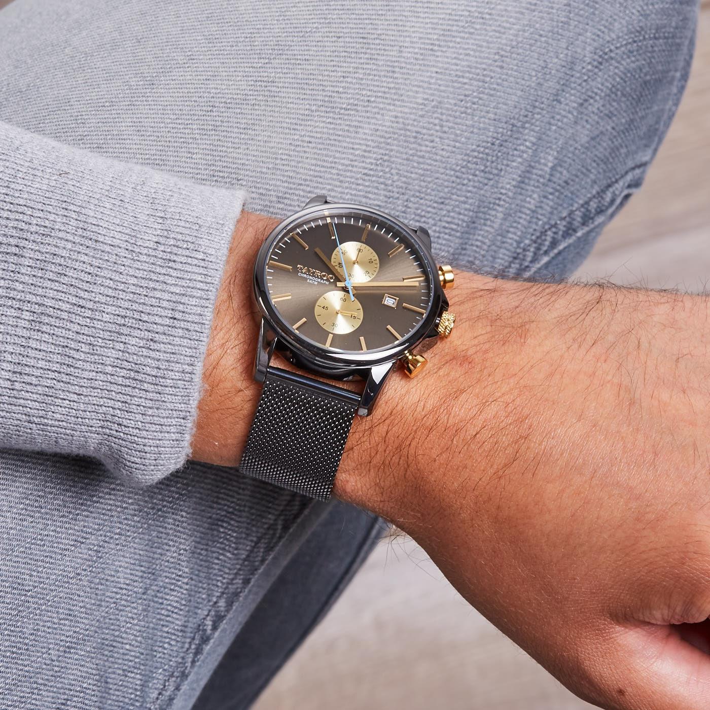 Tayroc Iconic Black horloge TXM095