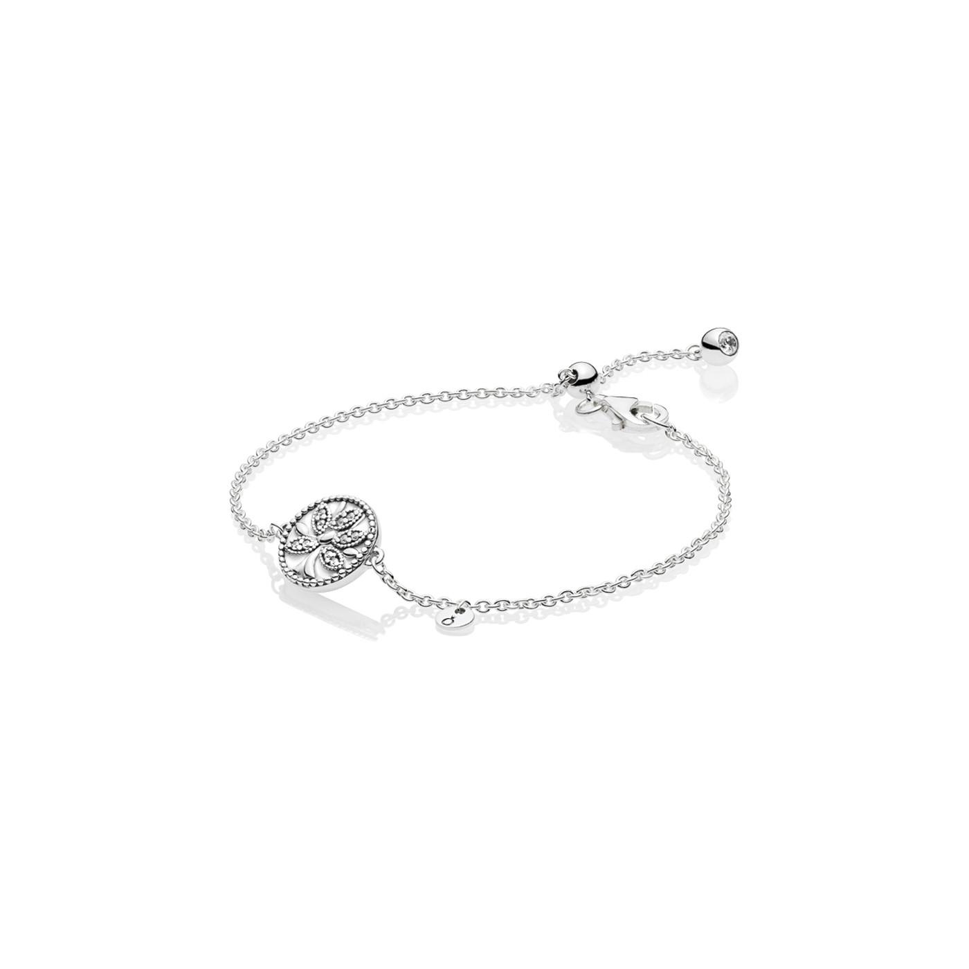 Pandora Stories 925 Sterling Zilveren Tree Of Life Armband 597776CZ