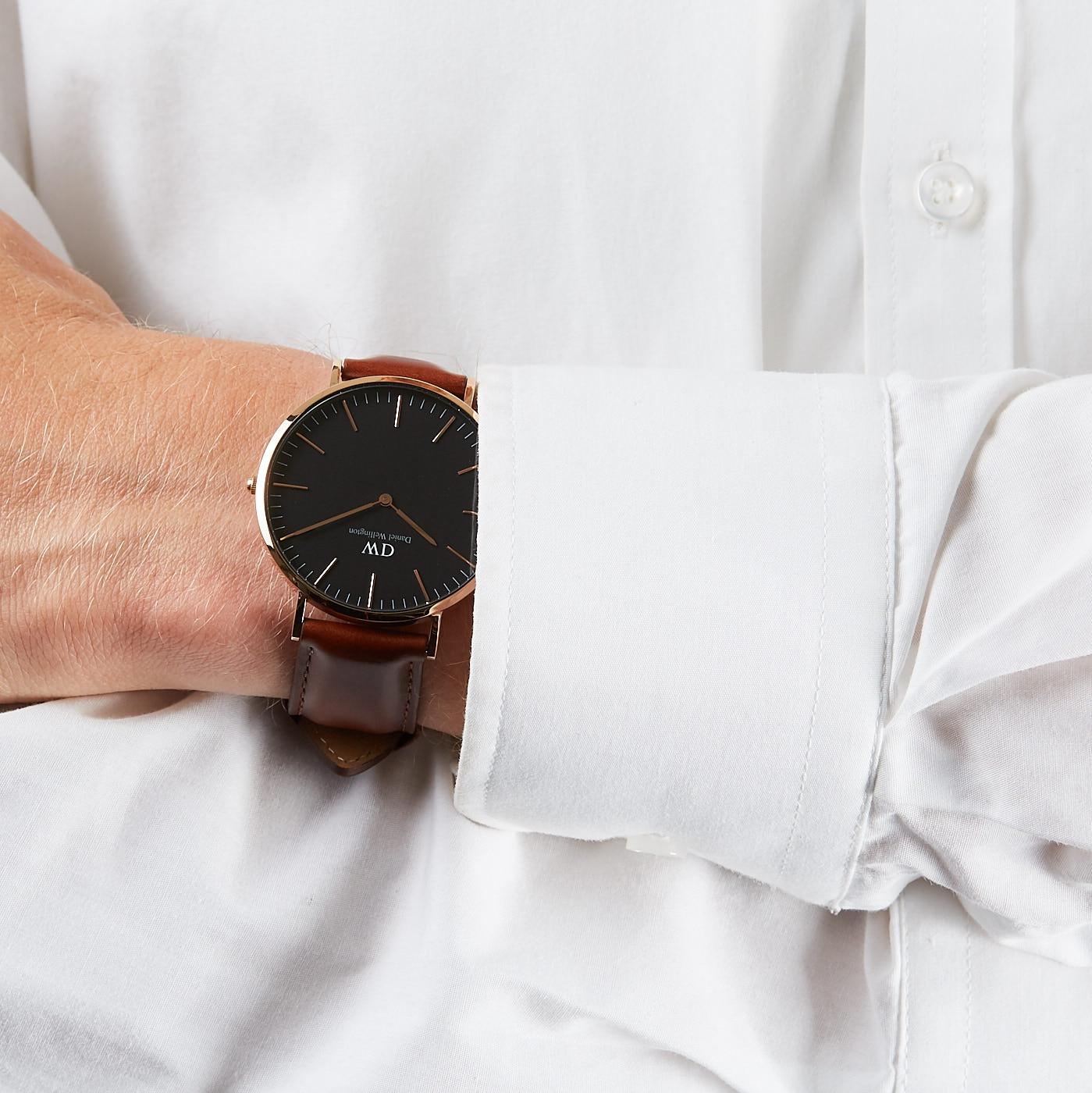 8ffb788af Daniel Wellington Classic Black watch DW00100124 - Watches