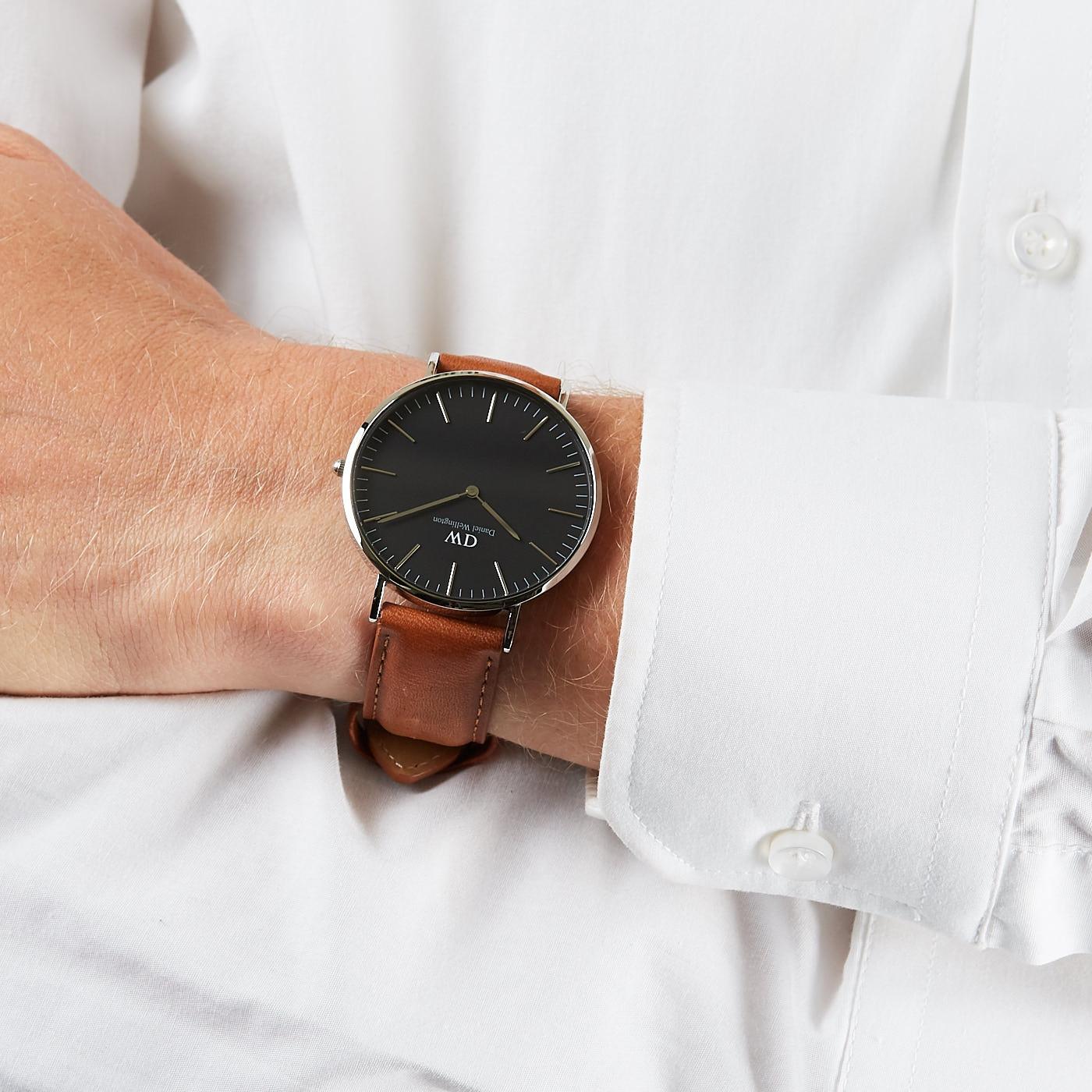 292852546 Daniel Wellington Classic Black watch DW00100132 - Watches
