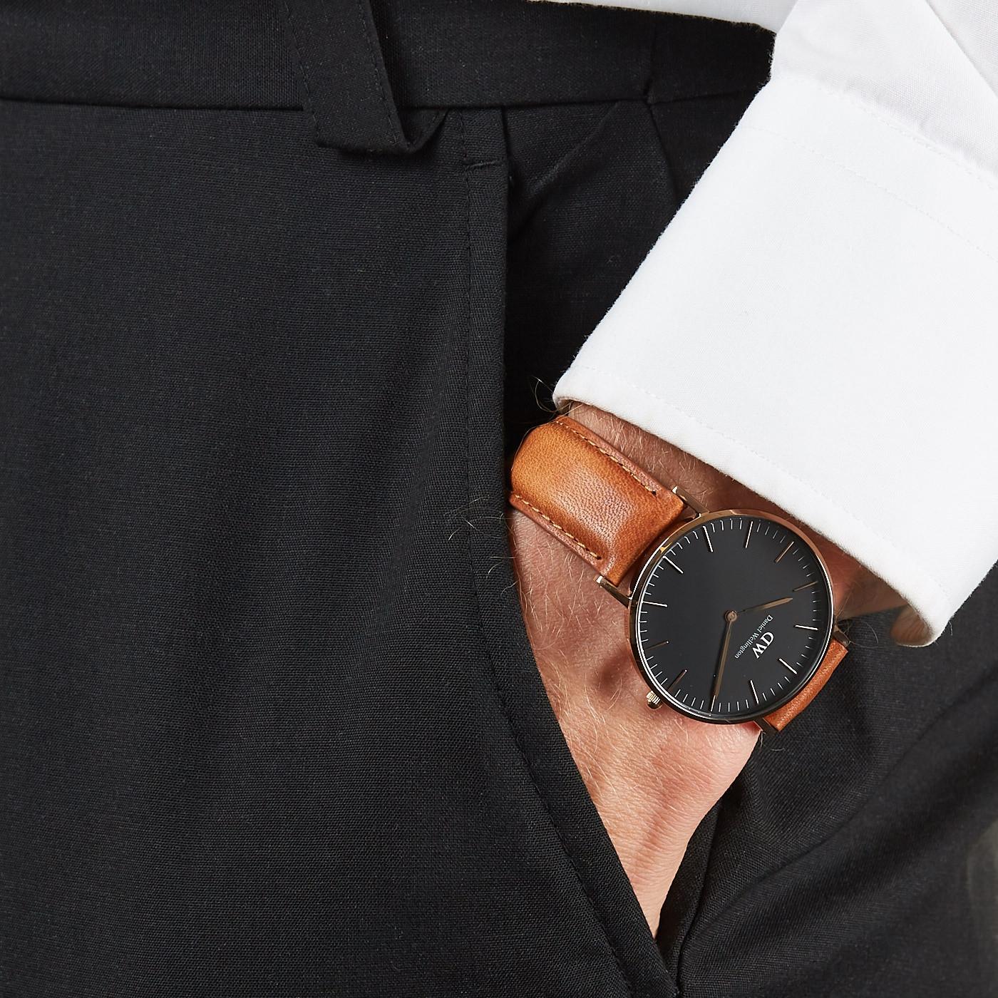 a928792c3acf Daniel Wellington Classic Black watch DW00100138 - Watches