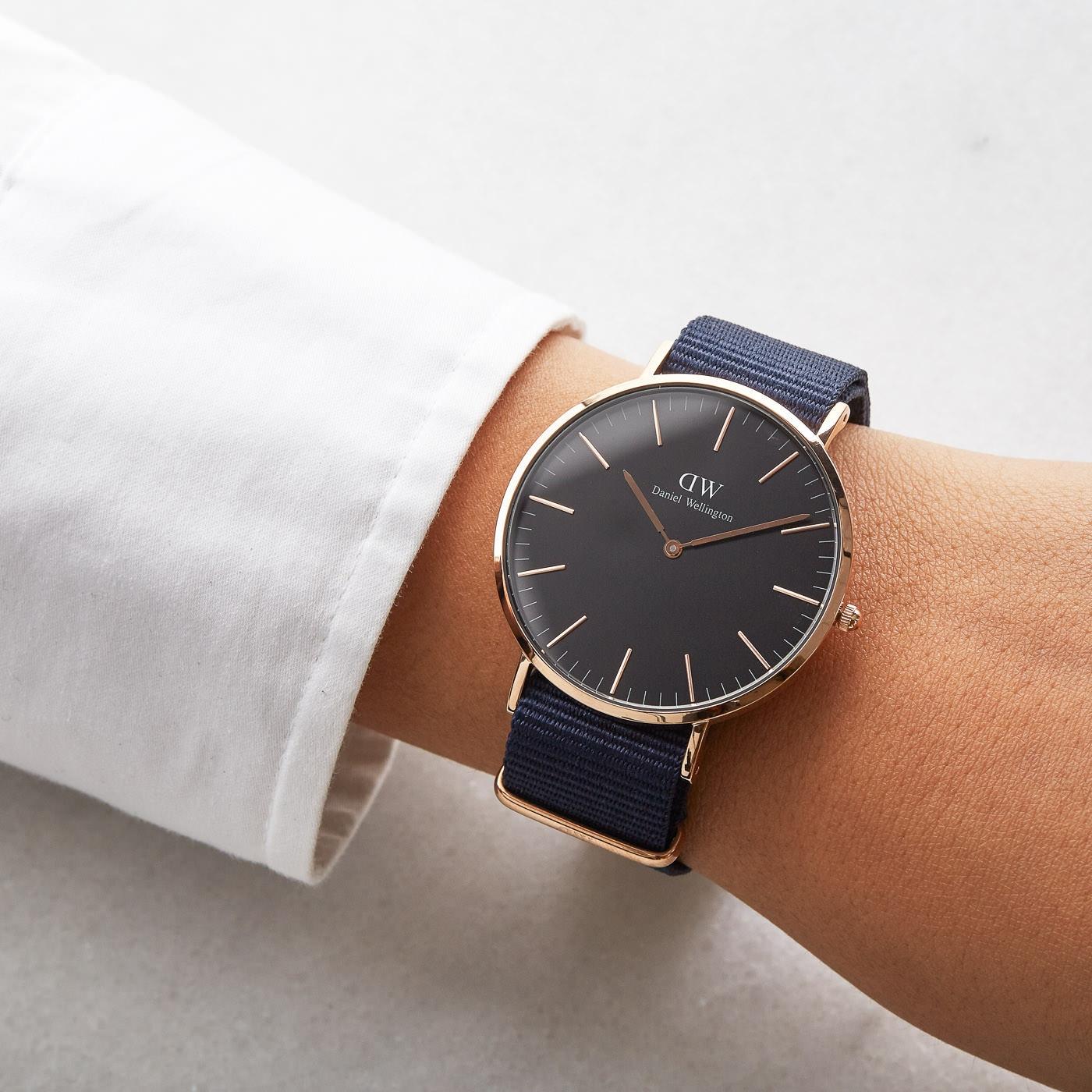 Daniel Wellington Classic Bayswater horloge DW00100277 (40 mm)