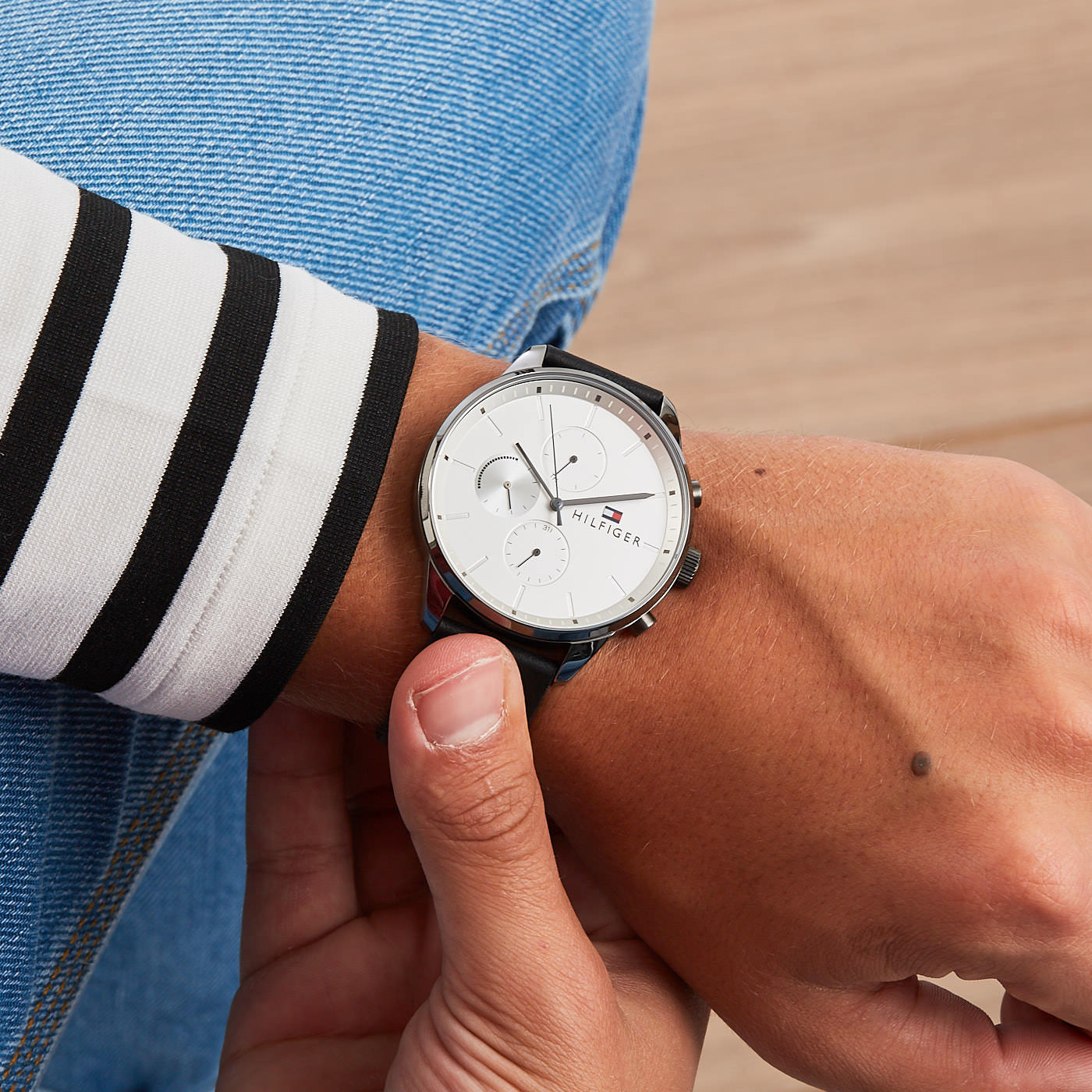Tommy Hilfiger Chase horloge TH1791489