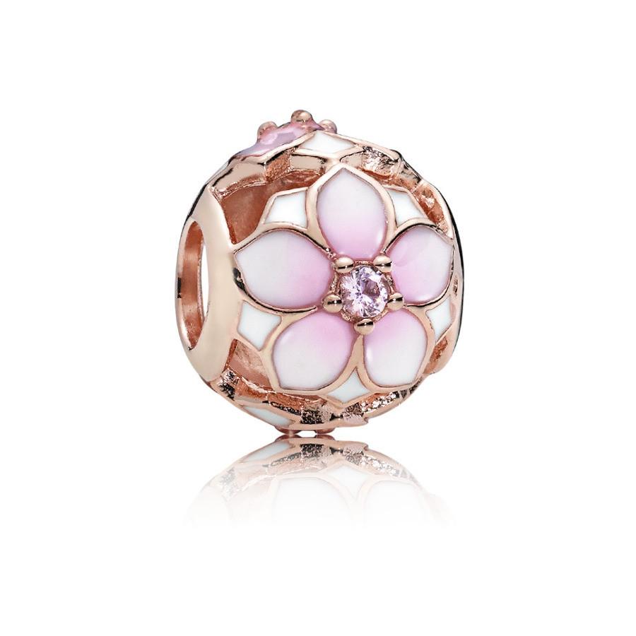 Pandora Moments Zilveren Magnolia Bloom Bedel 782087NBP