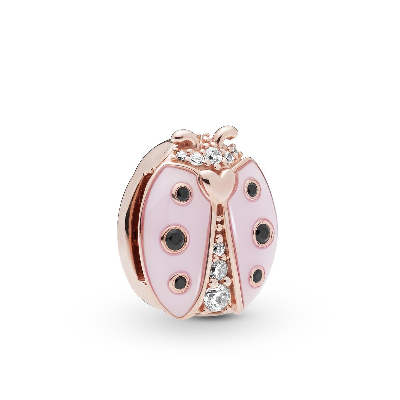 Pandora Reflexions 925 Sterling Zilveren Roségoudkleurige Ladybird Bedel 787970EN160