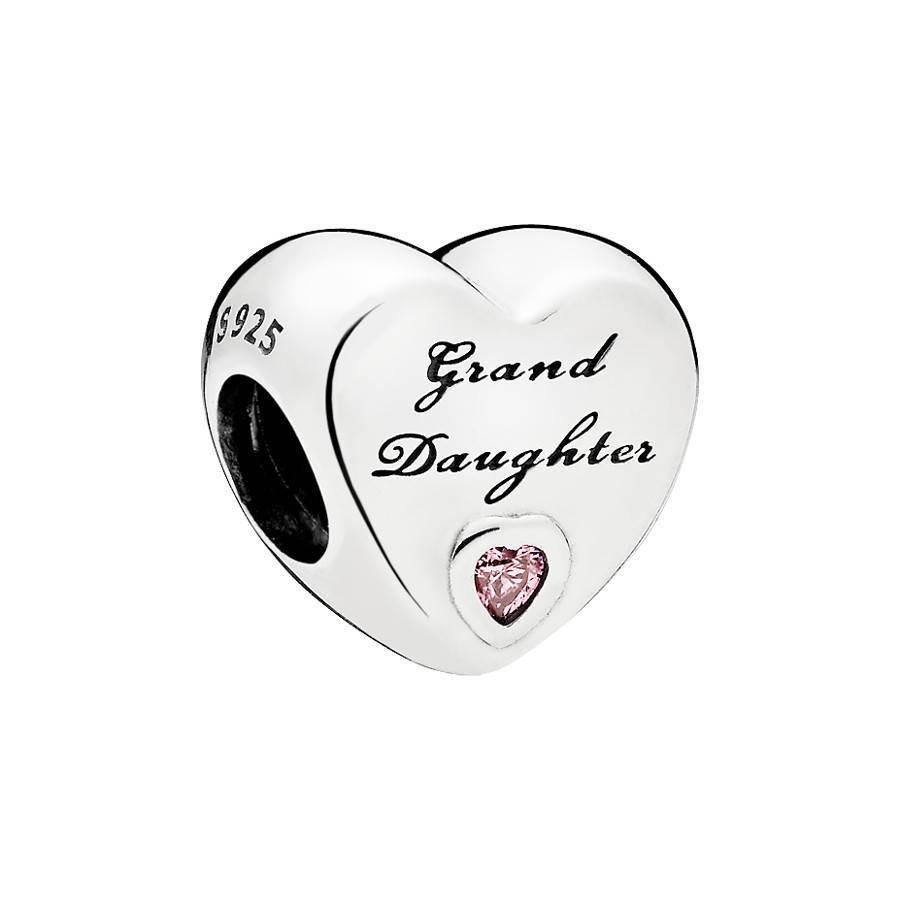 Pandora Moments Zilveren Granddaughter's Love Bedel 796261PCZ