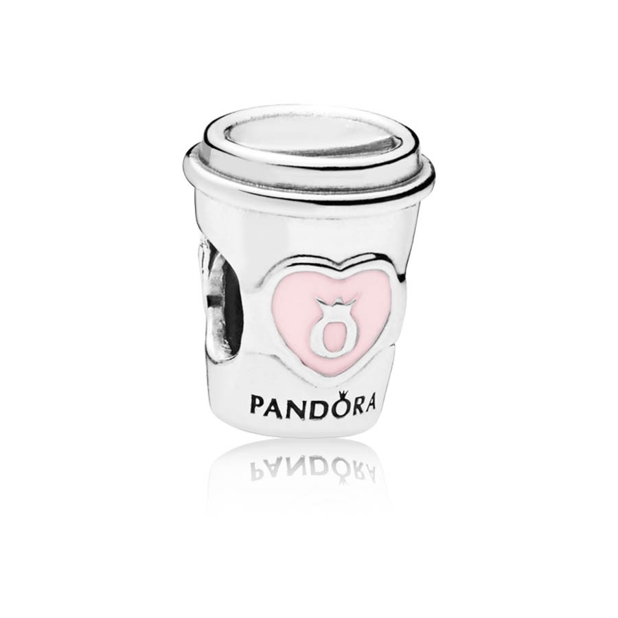 Pandora Moments Zilveren Drink to Go Bedel 797185EN160
