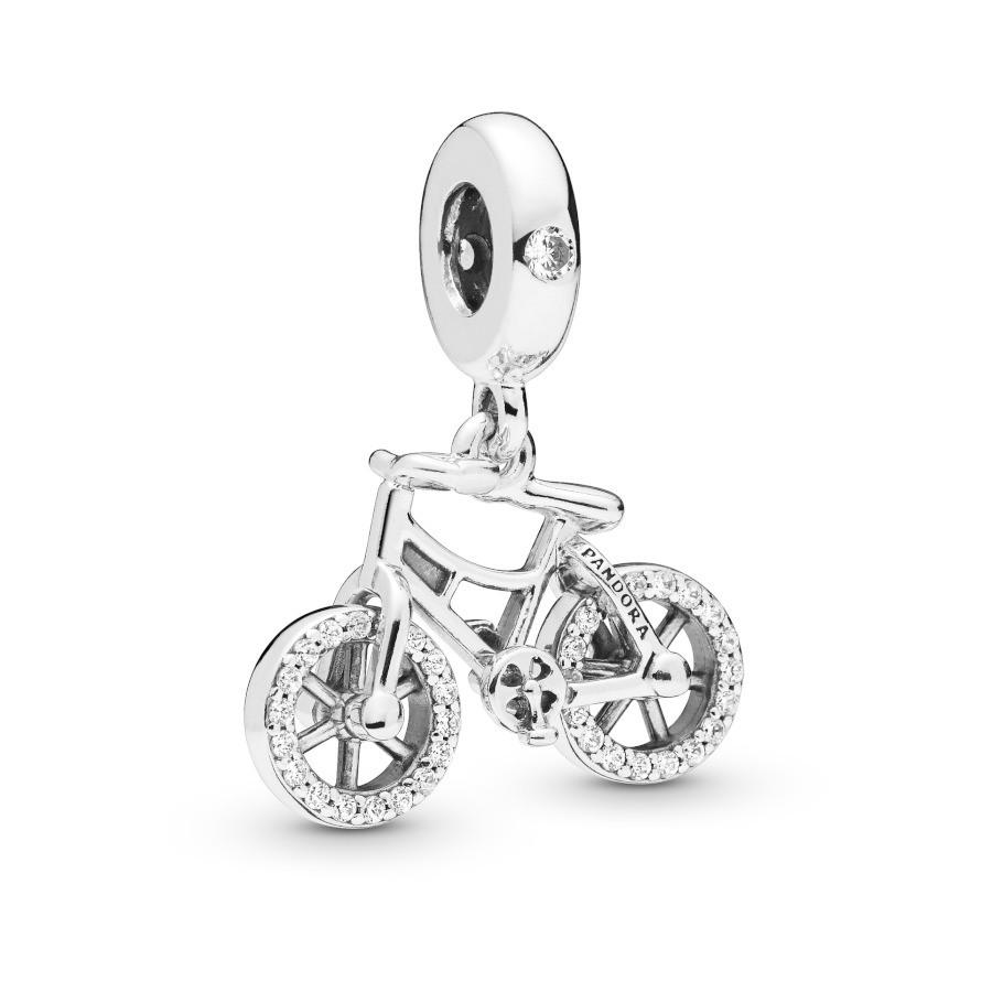Pandora Moments 925 Sterling Zilveren Bicycle Bedel 797858CZ