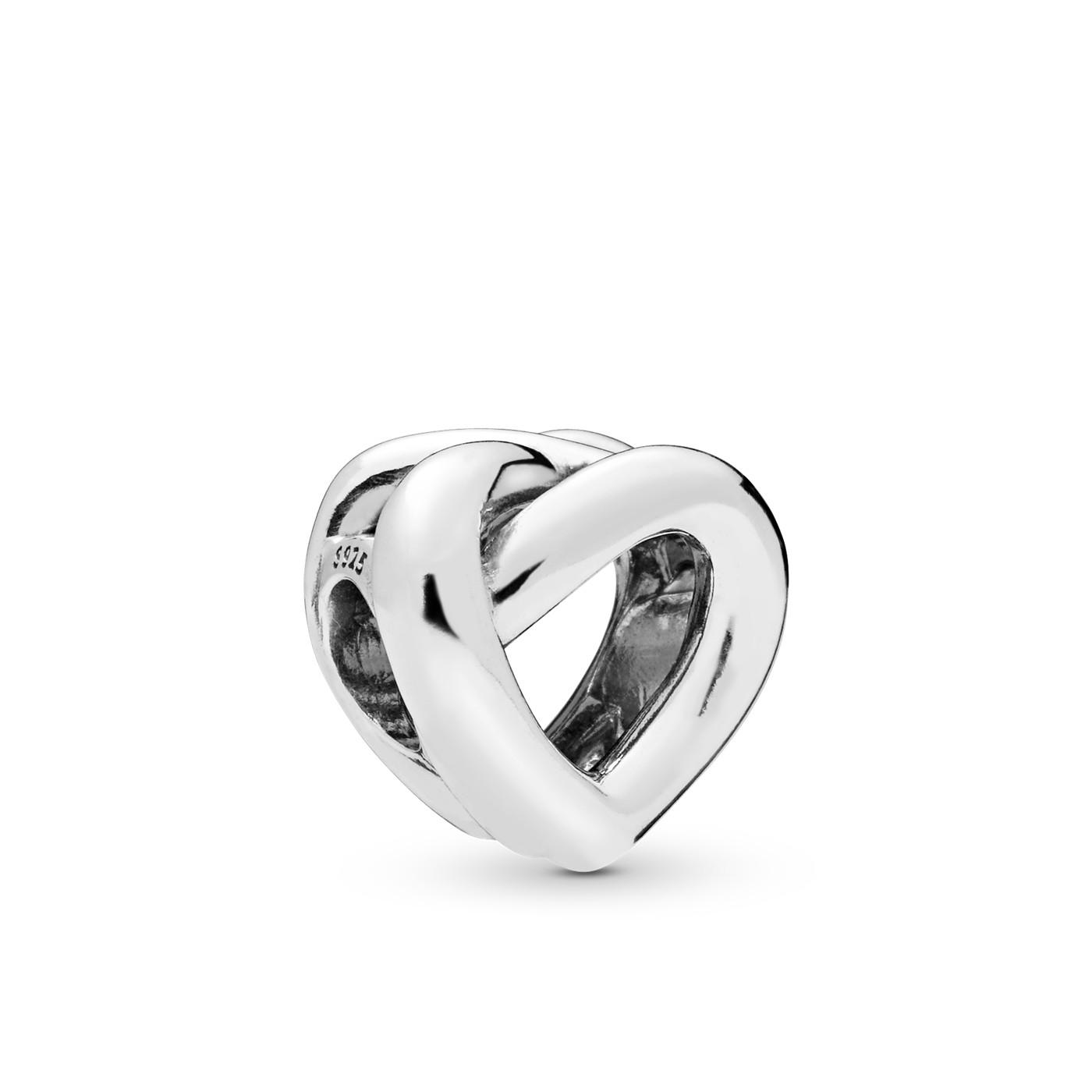 Pandora Moments 925 Sterling Zilveren Knotted Heart Bedel 798081