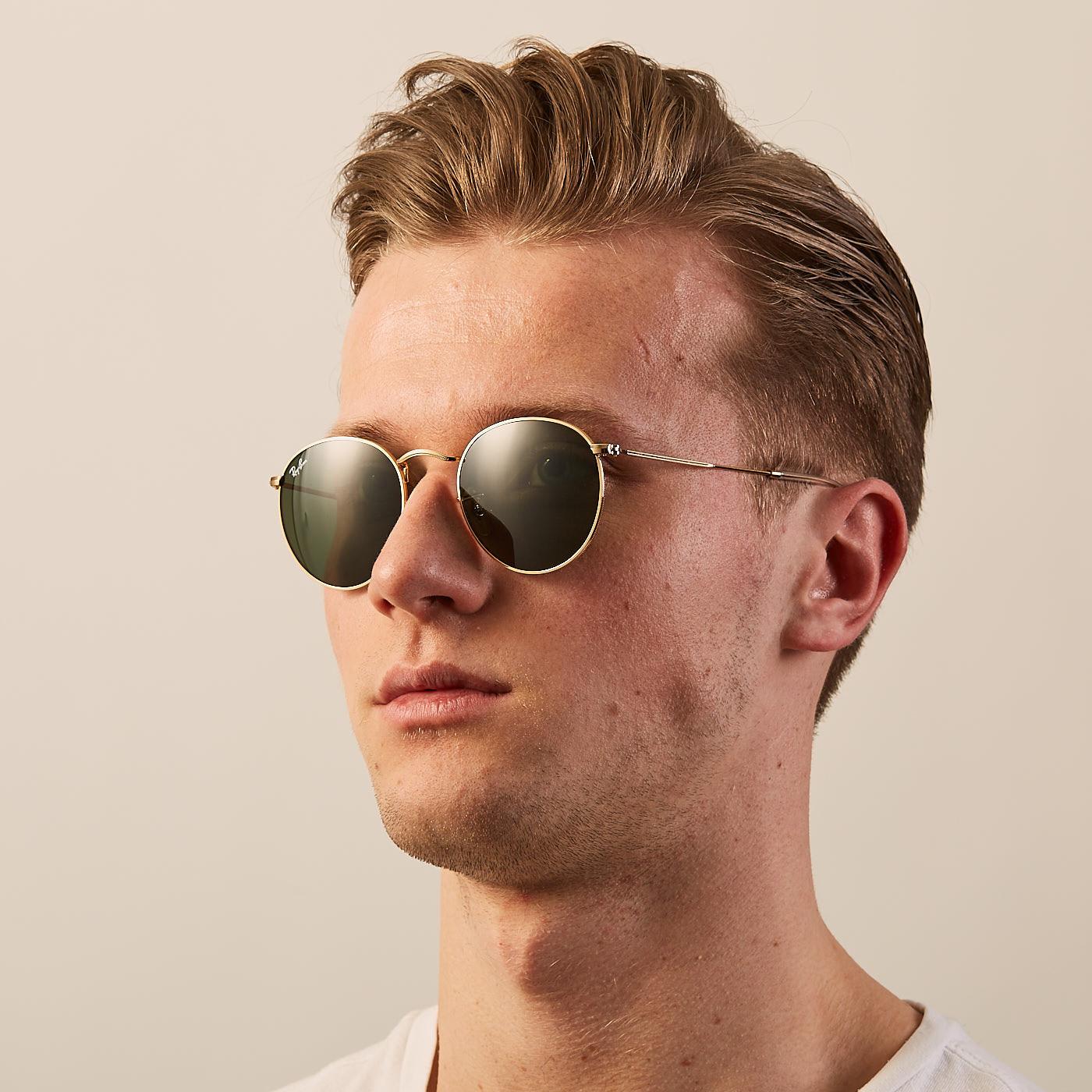 7ec69586b89be Ray-Ban Round Arista Sunglasses RB3447 001 - Sunglasses