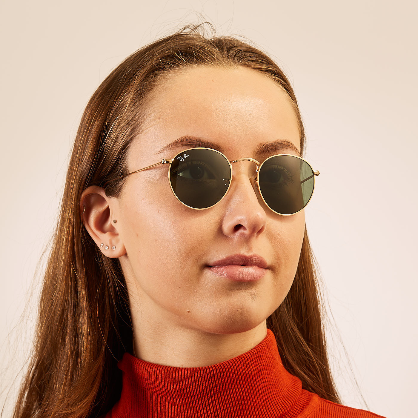 Ray Ban Round Metal Sunglasses Rb3447 47 001