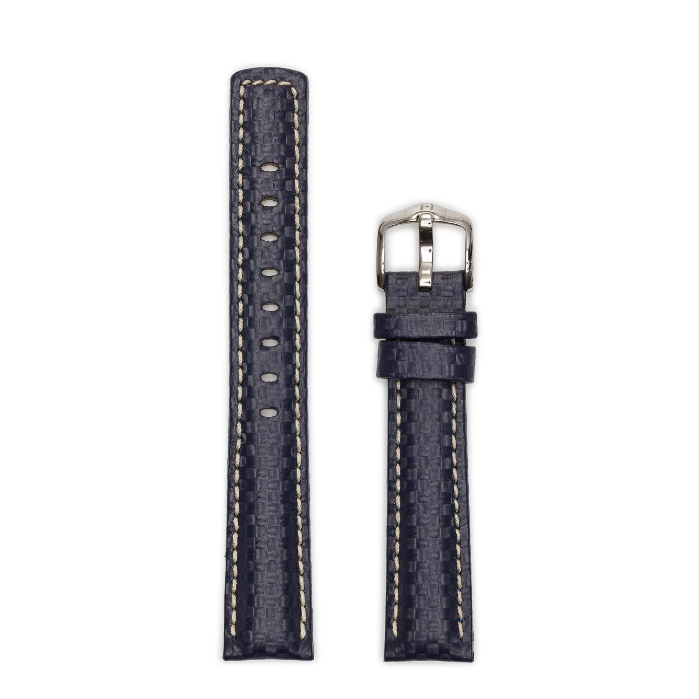 Hirsch Carbon watch strap 02592080-2