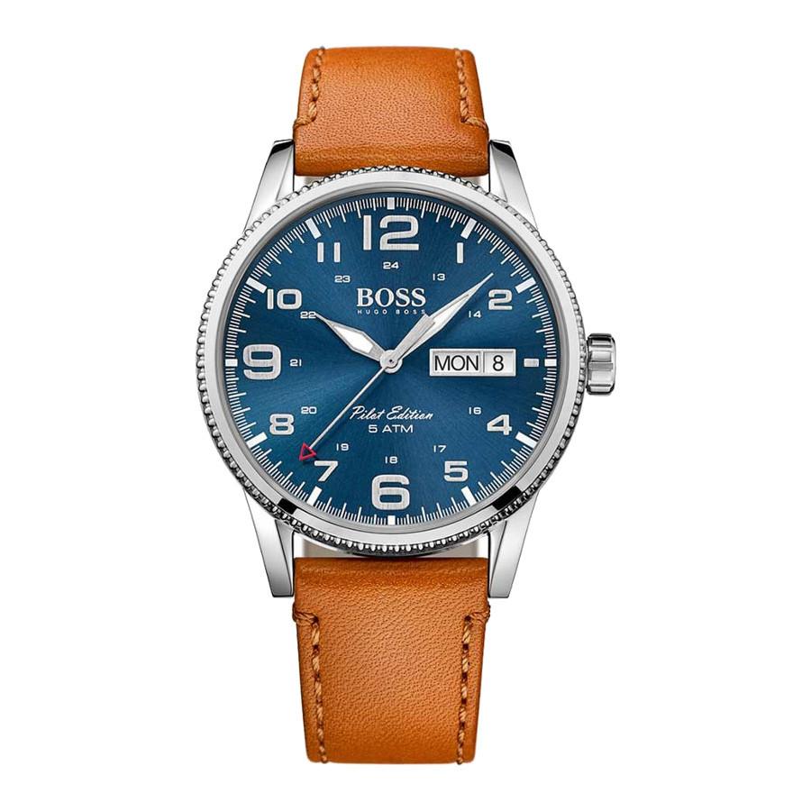 70b13703a BOSS Pilot Watch HB1513331 - Watches
