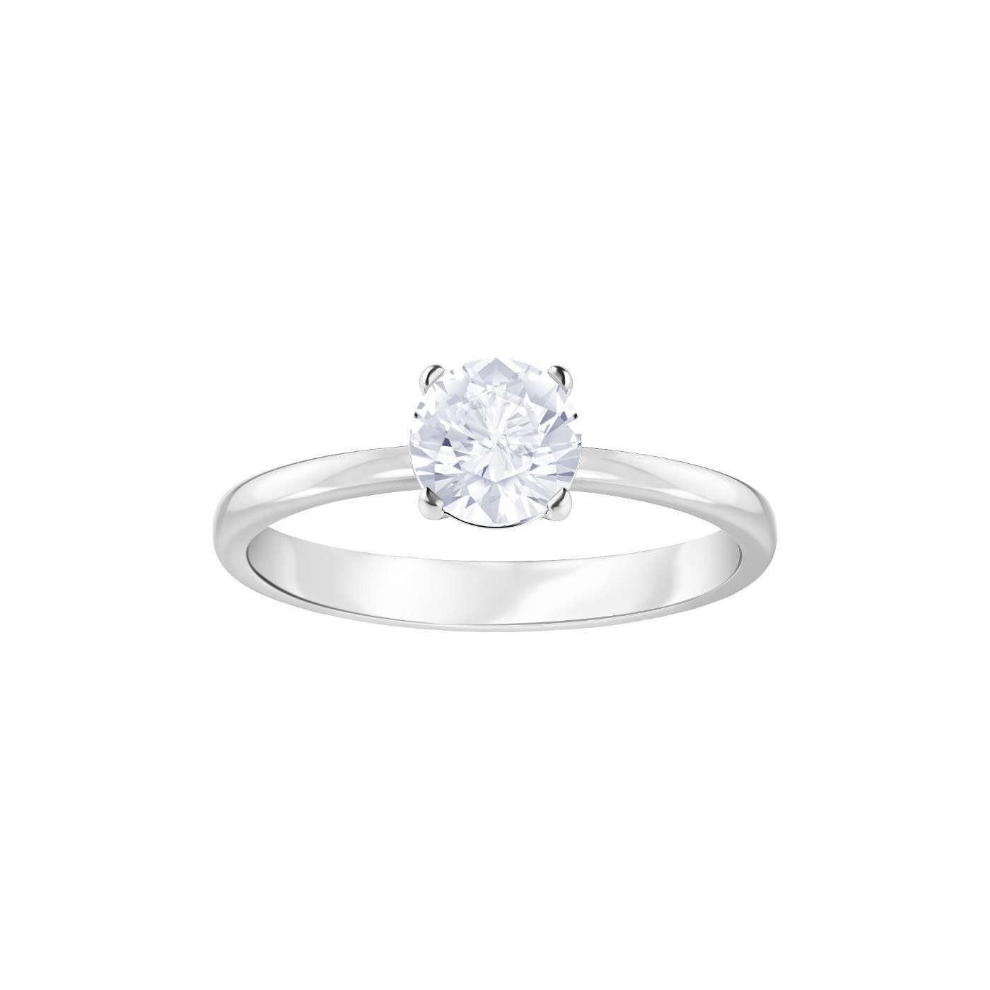 Swarovski Attract Ring Round-cubic-zirkonia-white - Jewelry 045df95a4c