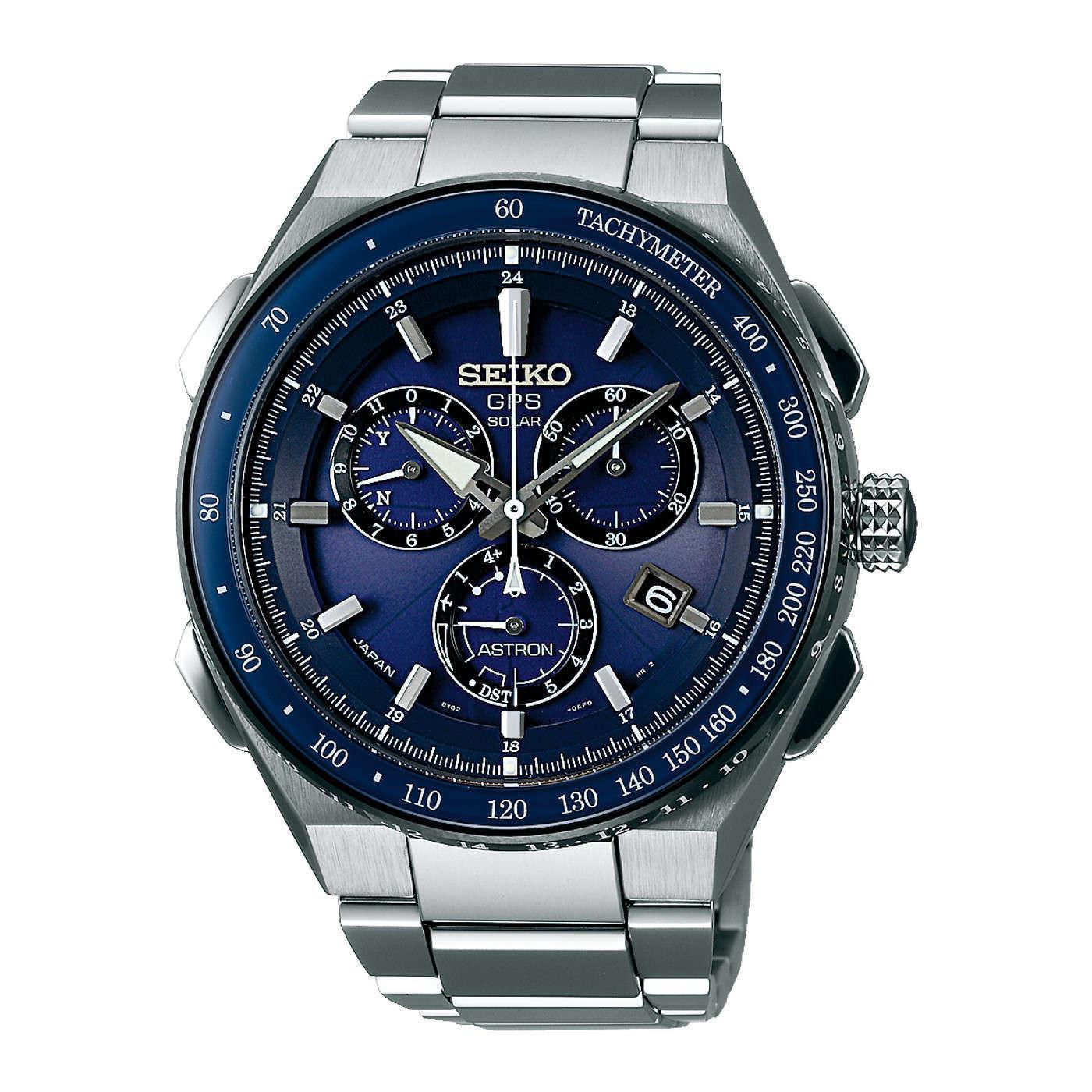 Seiko Astron Solar Chronograaf horloge SSE127J1