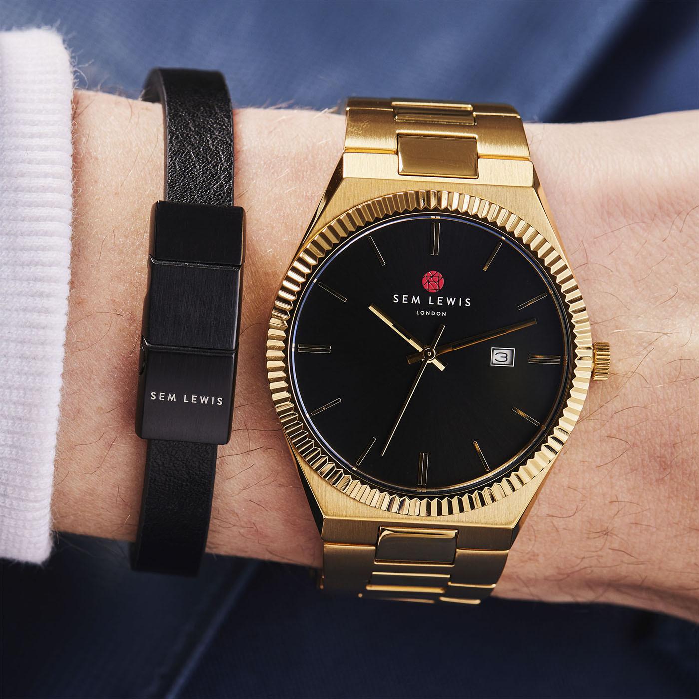 Sem Lewis Bakerloo Bracelet SL210022 (Size: 21 cm)