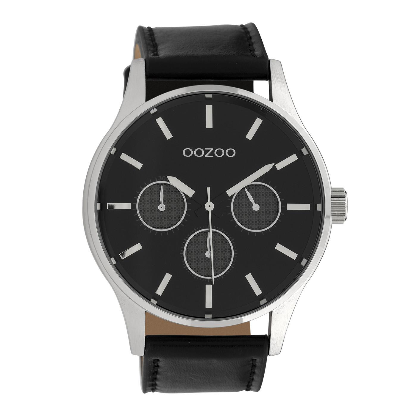 OOZOO Timepieces Zwart horloge C10049 (48 mm)