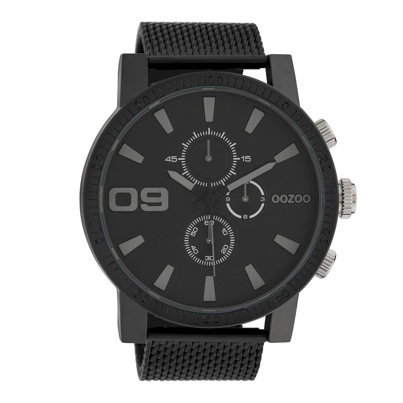 OOZOO Timepieces Zwart horloge C10053 (50 mm)