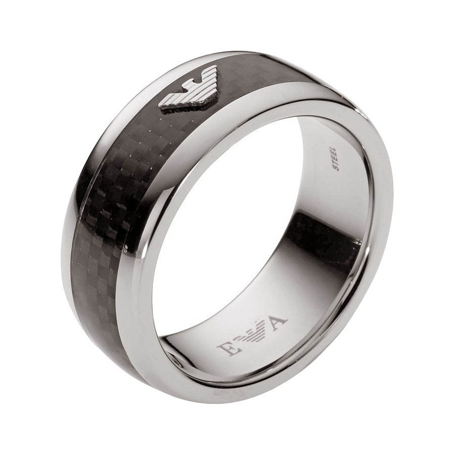 Emporio Armani Men Steel Ring EGS1602040