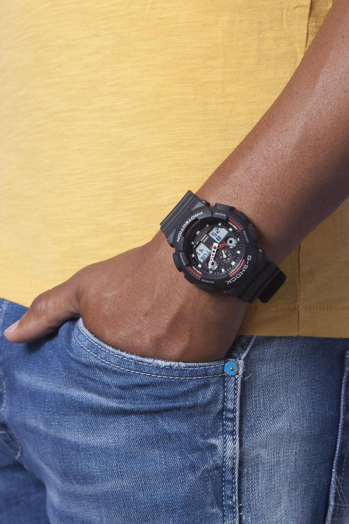 Casio GA-100-1A4ER horloge