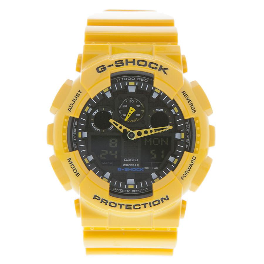 Casio GA-100A-9AER horloge