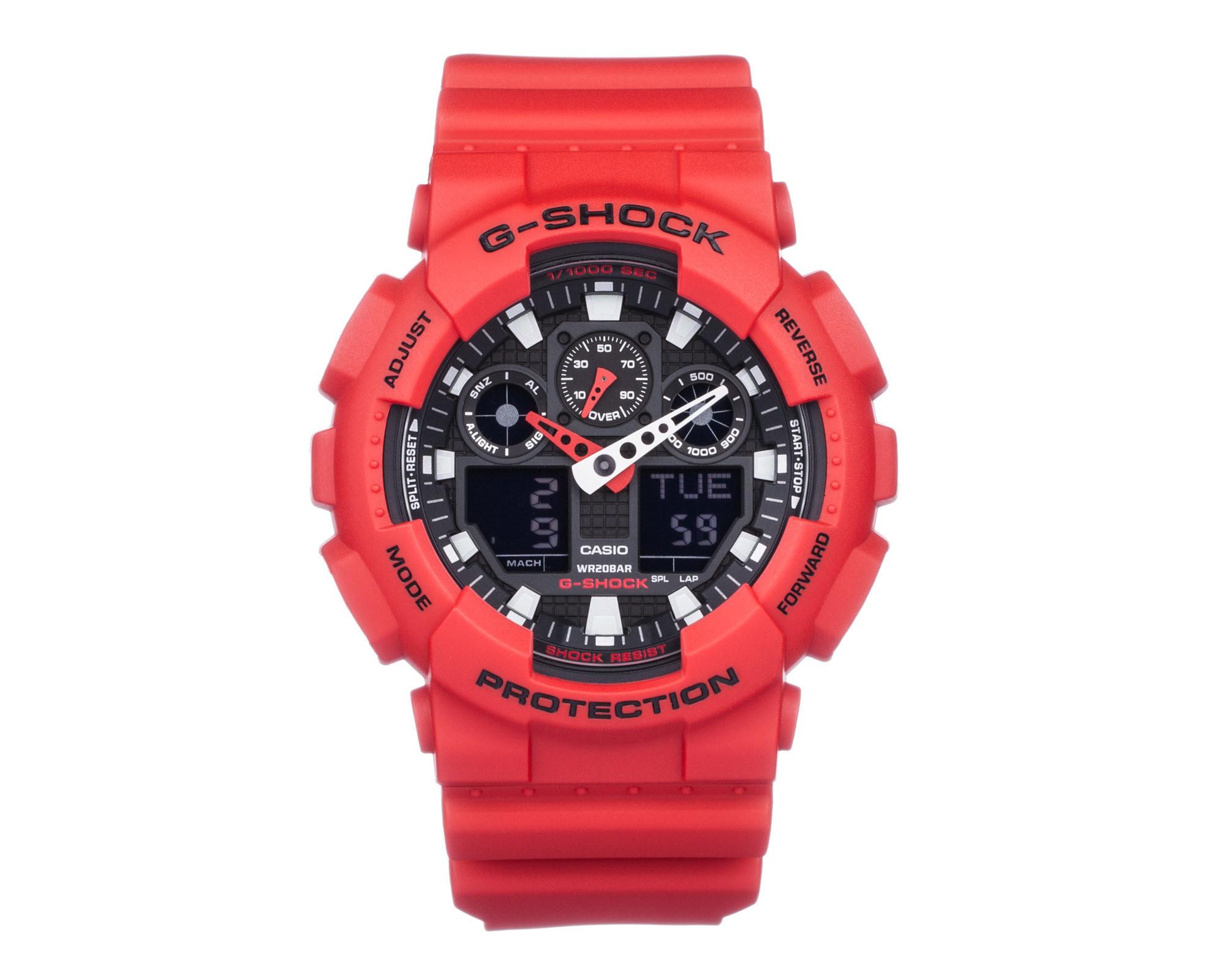 Casio GA-100B-4AER horloge