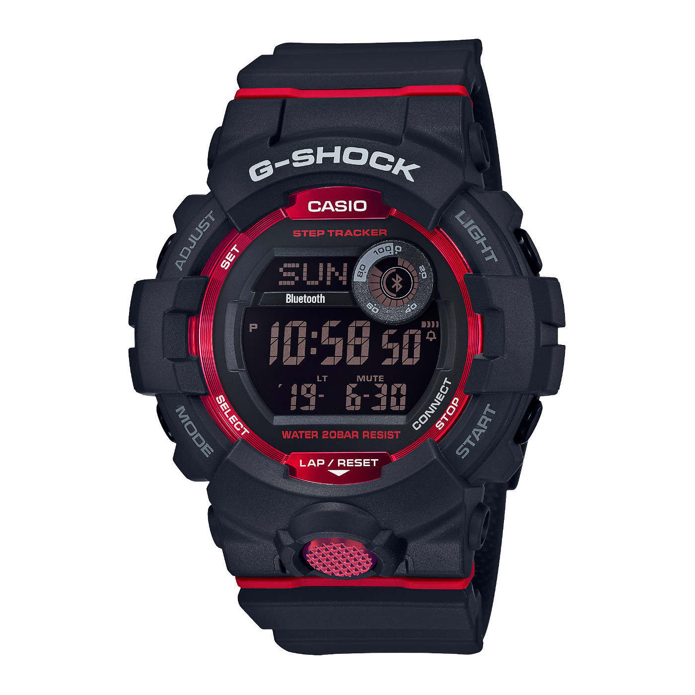 G-Shock G-Squad Stepcounter Bluetooth Connected horloge GBD-800-1ER